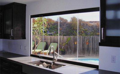 frameless glass doors - folding glass windows